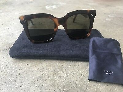 Celine CL 41076/S 05L/1E Tilda Sunglasses Havana Brown / Brown Lens 51MM
