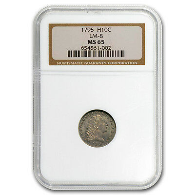 1795 Flowing Hair Half Dime MS-65 NGC - SKU #105117