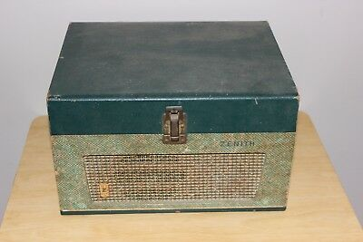 Zenith Vintage Record Player Model ZF - 6F