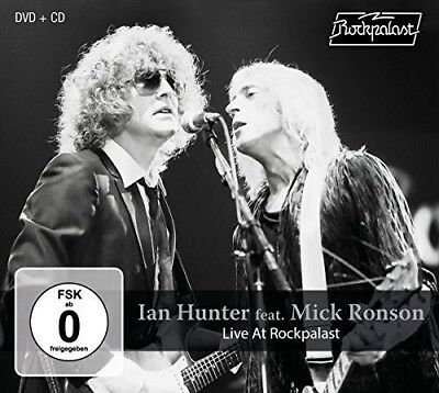 Ian Hunter and Mick Ronson - Live At Rockpalast [New CD] With DVD
