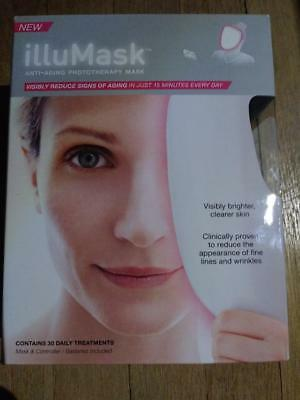 illuMask Anti Aging Photo Therapy Light Mask - Use Everyday for Best Results NIB