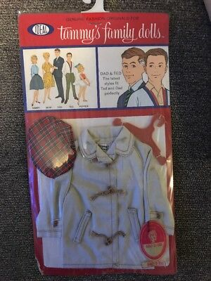 Vintage 1963 Ideal Tammy Family Doll Clothes For Dad And Ted Unopened