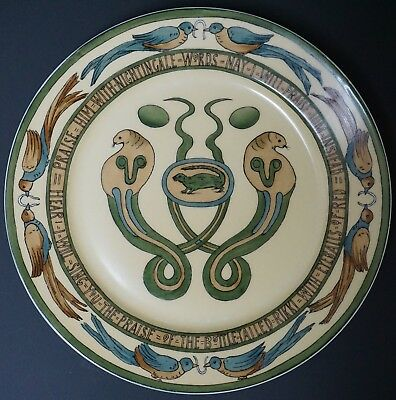 Mary Bacon Jones The Jungle Book Folk Design Plate for Guerin Limoges - D