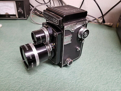 Yashica 635 Vintage Twin Lens Camera with Wide Angle Lens
