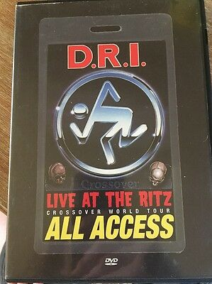 D.R.I.Live at the RITZ DVD 2001 Suicidal Tendencies Accüsed Cro-Mags Wehrmacht