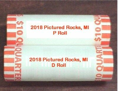 2018 PICTURED ROCKS NATIONAL LAKESHORE, MI  P & D (2) Rolls H/T ** IN STOCK**
