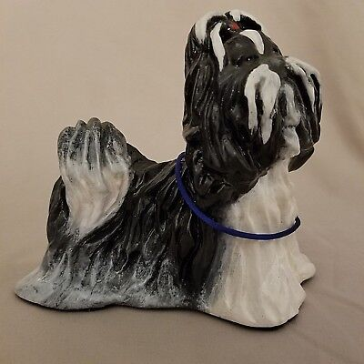 Ron Hevener Limited Edition numbered Shih-Tzu Dog Figurine
