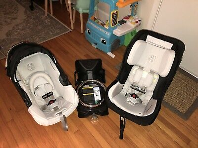 Orbit Baby G3 Infant Seat, Base and Toddler Seat