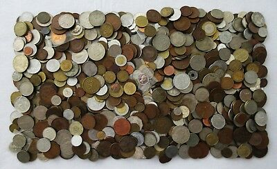 10+ POUNDS of OLD & NEW WORLD COINS >HUGE LOT > SEE MANY SCANS > NO RESERVE