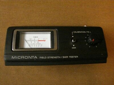 Vintage New Nos Micronta 21-523 Swr Field Strength Cb Ham Meter Tester