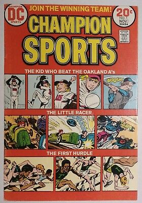 Champion Sports #1 (DC 1973) VF