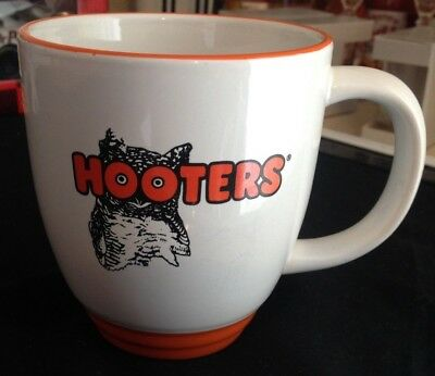 """Vintage Hooters Coffee Mug """"m Ware"""" Stamped """"delightfully Tacky Yet Unrefined"""""""