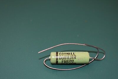 Cornell Dubilier Green .002 uF 600 V Audio Tone Guitar Capacitor Tested