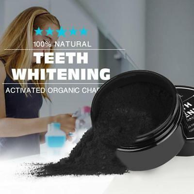 Hot Natural Organic Activated Charcoal Teeth Whitening Powder Bamboo Toothpaste
