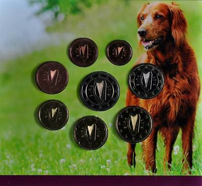 "44546) 2012, Euro KMS, ""Animals of Irish Coinage-Hund"", Originalfolder, st"