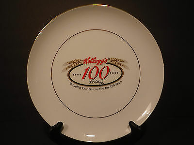 "Rare Limited Edition Kellogg's""1906-100 Years-2006"" Collector's Plate #90 Of 500"