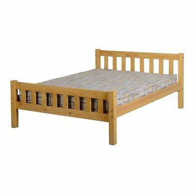 Carlow 4FT 6 inches Double Bed in Antique Pine