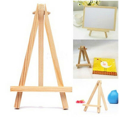 Mini Natural Wood Small Tripod Easel Tabletop Easel Toy for Children