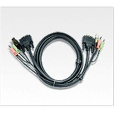 ATEN 2L-7D05U - Video- / USB- / Audio-Kabel - USB Typ A