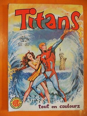 TITANS N° 2 du 10/05/1976. Wulf le Barbare. Lug Collection Super Héros
