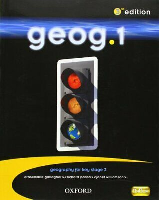 geog.1: students' book by Williamson, Janet Paperback Book The Cheap Fast Free