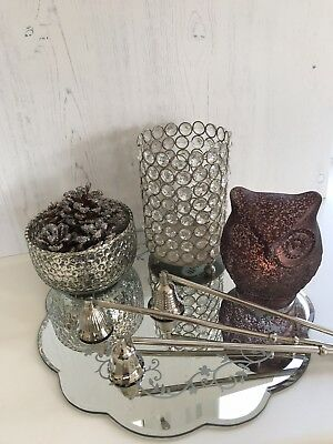 Silver Plated Candle Snuffler