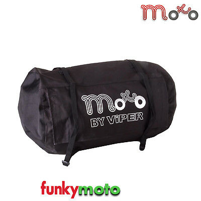 Motorcycle Roll Bag 50-Litre Waterproof Luggage Seat Tail Duffle Bag Commuter