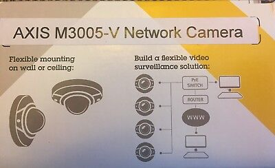 Axis M3005-V BRAND NEW POE Network IP Security Camera