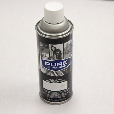 2013 OEM Polaris RZR Razor 4 XP Jagged X Silver Vogue Touch-up Spray Paint 10oz