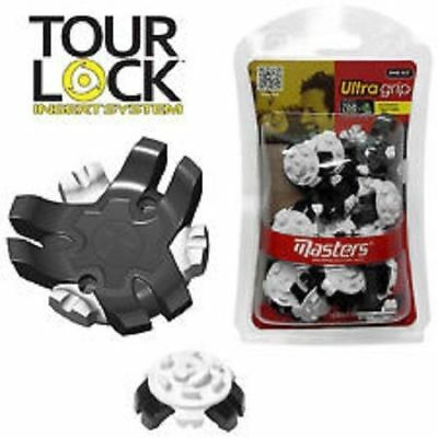 18 Masters Ultra Grip golf Shoe spikes cleats studs Tour Lock