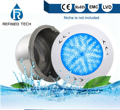 Wall led swimming pool lights RGB/White with 32.8ft cable For Pentair niche