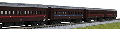 New KATO 10-1344 JNR Passenger Coach Series Type OHA 32000 4-Car Set (N-scale)