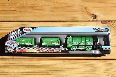 Thomas Trackmaster Flying Scotsman NEW Motorized Train Fisher Price Great Race