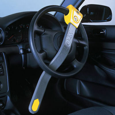 Stoplock Original Universal High Security Car Van Steering Wheel Lock Crook Lock