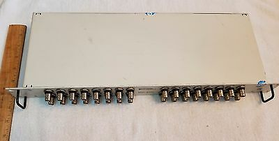 National Instruments 32 Channel BNC Connector Rack Mounted , Model BNC-2095