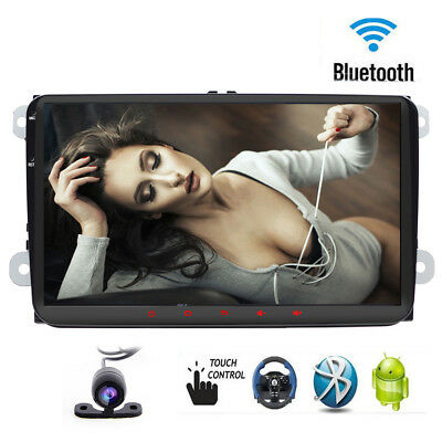2din For VW GOLF Android 6.0 radio GPS Navigation Car Stereo System Bluetooth 4G