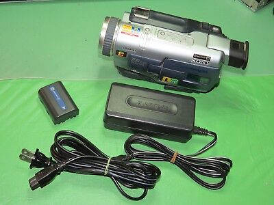 Sony DCR-TRV230 Digital8 Camcorder - Record Play Watch Transfer Hi8 Video8 Tapes