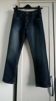 Boys Jeans With Adjustable Waist Age 9-10 Years By George