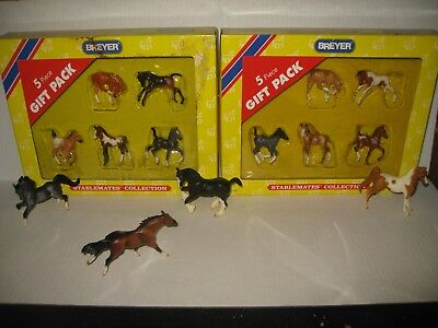 Lot of 14 Breyer Stablemates - Gift Packs - Foals #5994 & #5982 & More....