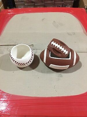 Sports Themed Candy Dishes (pair)