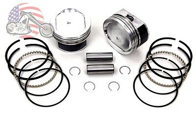 Sportster 883 to 1200 Conversion Piston Pistons AND GASKETS CUSTOM LISTING
