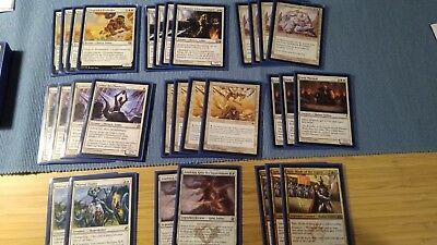 Spielfertiges Soldier Soldaten Deck - Magic MtG 60 Karten - 18 Rares