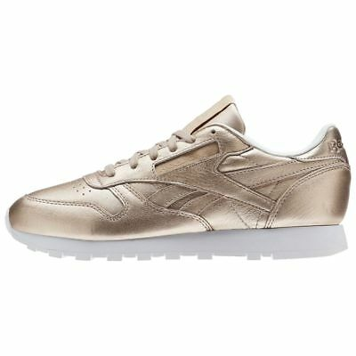 07159ad69a7b43 Women s Reebok Classic Leather Melted Metals Peach   BS7897   CL Pearl Met  White
