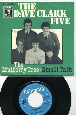 """7 -  The  DAVE CLARK FIVE  -  The Mulberry Tree / Small Talk  -  Beat"