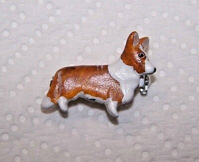 Cardigan Welsh Corgi, Corgi,  Red Cardigan Pendant, Signed, Ooak