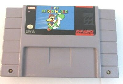 Super Mario World  (Super Nintendo SNES, 1992) Cartridge Only