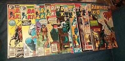 rawhide kid 10 issue bronze age marvel comic lot western run collection movie