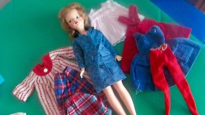 Vintage 1960's Ideal Tammy doll with authentic tagged clothes LOOK