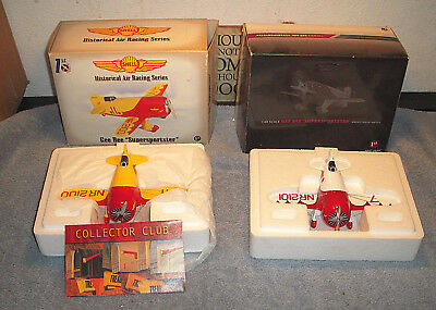 Gee Bee R-1 Super Sportster Aircraft Model & First Gear- LOT OF 3 - ESTATE SALE