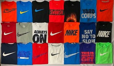 Boy's Youth Nike Dri-Fit Polyester Shirt